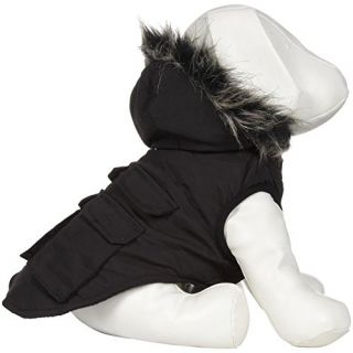 Canada Pooch Everest Explorer Jacket, Black, Size 16