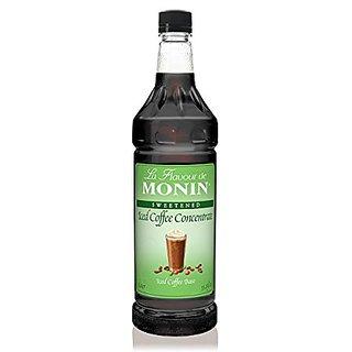 Monin Iced Coffee Syrup sweetened 1 Liter