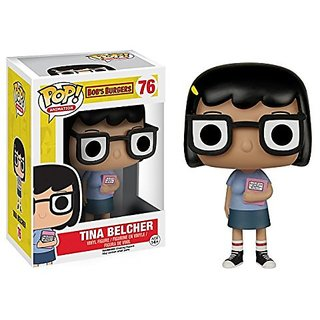 Funko POP Bobs Burger: Tina Belcher and Louise Belcher 2 Piece BUNDLE