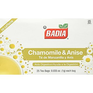 BADIA Tea Chamomile and Anise 25 BG 2 Pack