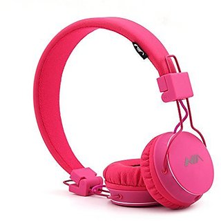 GranVela® A1 Foldable On-Ear Stereo Wired Headphones, Lightweight and Comfortable, with 3.5mm plug Detachable Cables