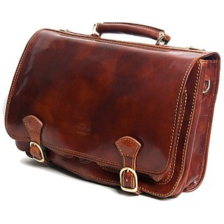 Timmari Maple Collection Italian Leather Messenger Bag