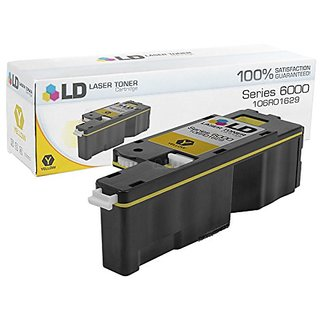 LD © Compatible Xerox 106R01629 Yellow Laser Toner Cartridge for the Phaser 6010, 6000, 6010N, WorkCentre 6015 Seri