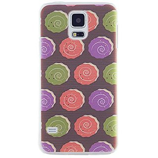 CaseBee - Donut Spiral Pattern Samsung Galaxy S5 i9600 SM-G900 Case - Perfect Gift (Package includes Screen Protector)