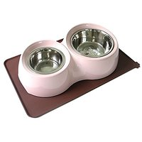 Tinkle ONE Silicone Pet Feeding Mat Waterproof Non-Slip Pet Food Bowl Mat Feeding Tray For Cats And Dogs