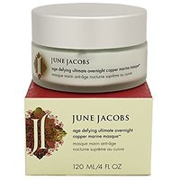 June Jacobs Age Defying Ultimate Overnight Copper Marine Masque, 4 Oz.
