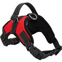 AbcGoodefg Oxford Saddle Type Service No-pull Pet Dog Vest Harness, Heavy Duty Padded Dog Body Harness Vest Vary From Al