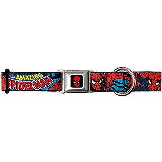 The Amazing Spiderman - Dog Collar - Medium