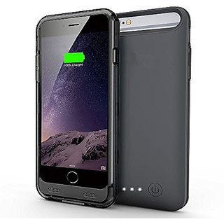 PowerLead 4000mAh iPhone 6 Plus/6s Plus Battery Charger Case Backup Battery Charger Case, Rechargeable & Portable Extend
