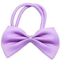 Mirage Pet Products 48-34 LV Plain Bow Tie, Lavender, Small
