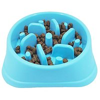 JasGood Dog Feeder Slow Eating Pet Bowl Eco-friendly Durable Non-Toxic Preventing Choking Healthy Design Bowl For Cat Do