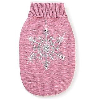 Zack & Zoey ZZ Shimmer Nights Snow Sweater S Pnk