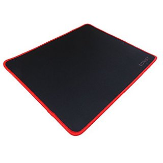 CONISY Natural Eco Rubber Gaming Mouse Pad, Non-slippery Rubber Base, Any DPI Speed Mouse Mat (11.8 X 9.8 X 0.2in) (M, R