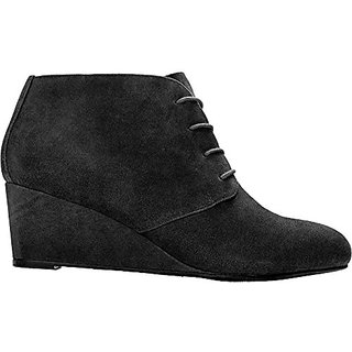 Vionic Womens Elevated Becca Ankle Boot (Black, 7)