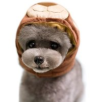 Alfie Pet By Petoga Couture - Qeno Bear Hat For Party Halloween Special Events Costume (for Small Dogs & Cats) - Size: S