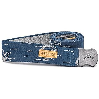 Arcade Sawtooth Belt (Navy / Grey)