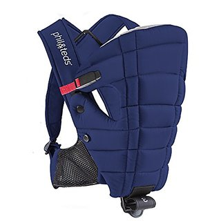 Phil&teds Emotion Front Carrier, Midnight Blue