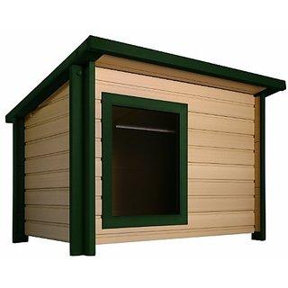 ecoChoice Rustic Lodge Style Dog House, X-Large