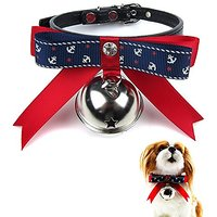 Alfie Pet By Petoga Couture - Pablo Adjustable Bow Collar With Bell (for Dogs & Cats) - Size: Small