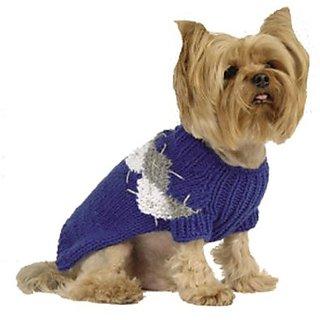 Maxs Closet 00096-16 Royal Modern Argyle Sweater