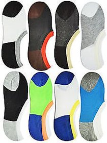 6 pair Loafer Socks Multicolour Cotton Loafer