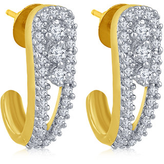 Inaya Gold Plated  Brass & Copper Studs for Women-TO_A_22