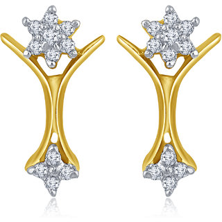 Inaya Gold Plated  Brass & Copper Studs for Women-TO_A_50
