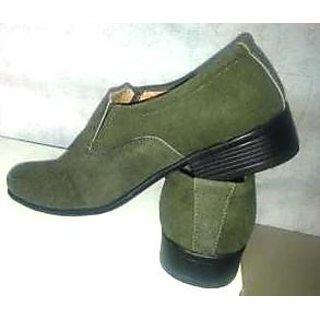 SS Export Men's Green Casual Shoes