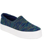 Berry Purple Women's Blue Casual Slip on Shoes