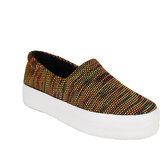 Berry Purple Women's Multicolor Casual Slip on Shoes