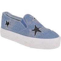 Berry Purple Women's Blue Casual Slip On Shoes - 101198224