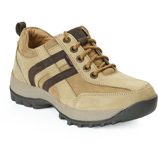 Red Chief Camal Brown Men High Ankle Outdoor Casual Leather Shoes (RC2802 004)