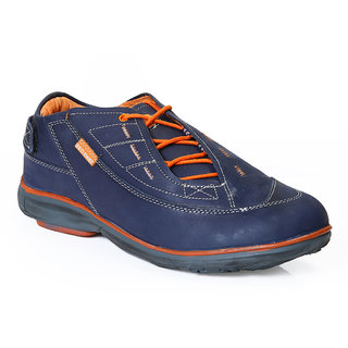 Red Chief Blue Men Casual Leather Shoes (RC2891 061)