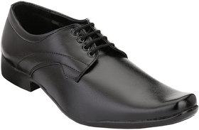 Shoe Day Men Black Lace-Up Formal Shoes