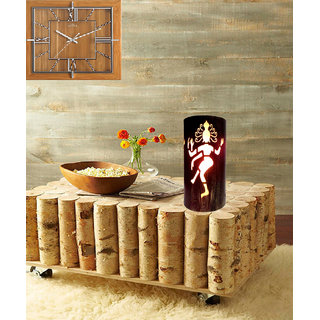 AH Golden Shading Color Natraj God Design Iron Table Lamp