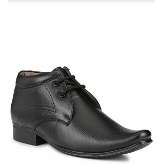 Shoe Day Men Black Lace Up Formal Shoes