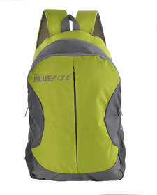 The Blue Pink Green Polyester Casual Backpacks