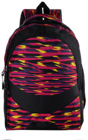 The Blue Pink Multicolor Zip Closure Backpack