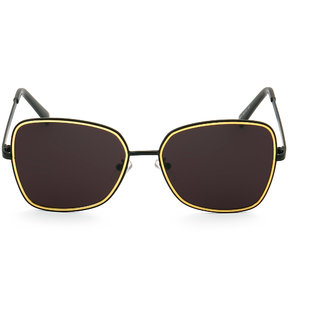 Royal Son Black UV Protection Unisex Black Sunglass