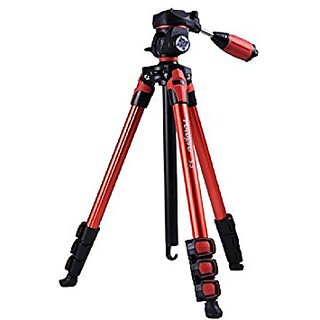 FOTOPRO S3 TRIPOD RED Tripods   Monopods