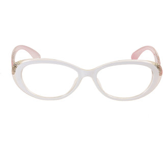 7a9432d59b Buy Royal Son White Full Rim Women Oval Spectacle Frame Online - Get 69% Off
