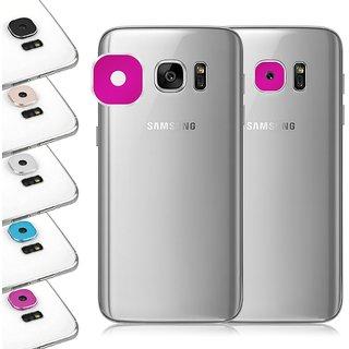 Rear Camera Lens Protector Cover Ring Samsung Galaxy S7/S7 Edge Galaxy A5 (2015) A7 (2015) A9 (2015) Silver Colour
