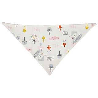 Cutebaby Sprout Triangle bib scarf bib for babys Pink