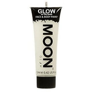 Moon Glow Neon Glow in the Dark Face & Body Paint Invisible 12ml