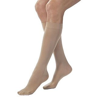 BSN Medical 115607 JOBST Compression Hose with Closed Toe, Petite, Knee High, X-Large, 15-20 mmHG, Natural