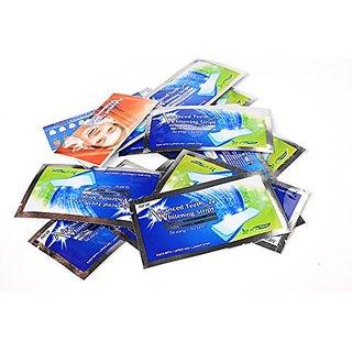 28PCS/14Pairs Professional Home Teeth Whitening Strips Bleaching Whiter Whitestrips