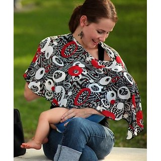 Pirose By Reno Rose Pirose Nursing Scarf Cover - Minako (Medium, Ori)