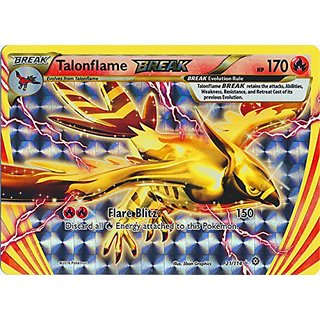 Pokemon - Talonflame BREAK (21/114) - XY Steam Siege - Holo