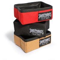 Sturdi Products 2 Cup Foldable Water Tight Box, Black