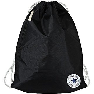 Buy CONVERSE Core Poly Cinch Drawstring Bag - Black Online - Get 23% Off 0c570c32844b0